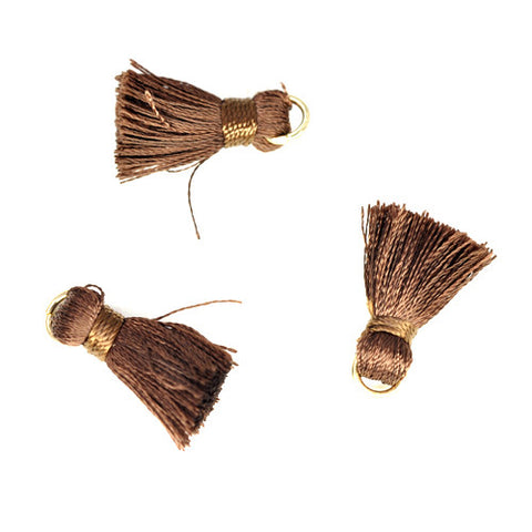 Tassel 20 mm Brown