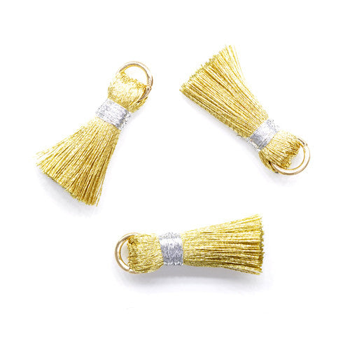 Tassel 20 mm Gold w/ Silver