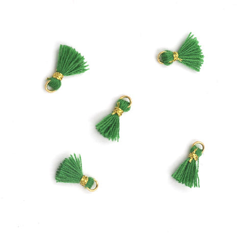 Tassel 10 mm Green