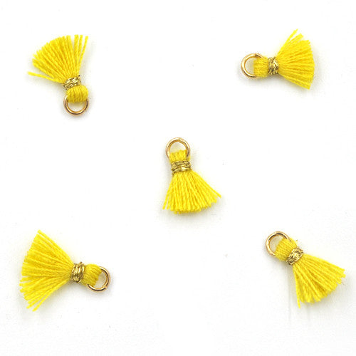 Tassel 10 mm Yellow