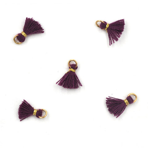 Tassel 10 mm Purple
