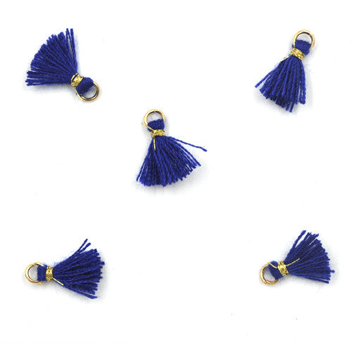 Tassel 10 mm Blue