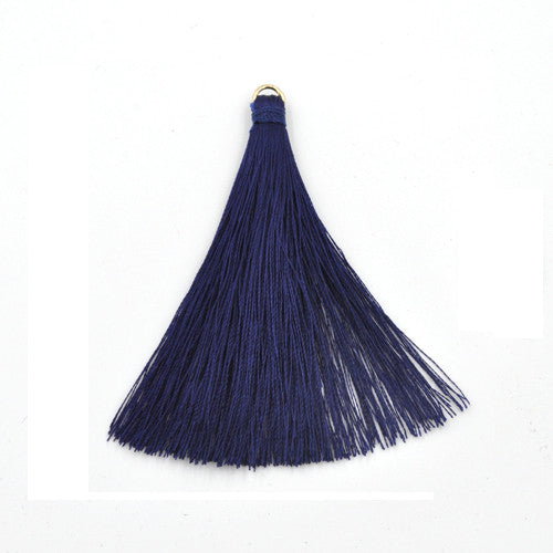 Tassel 70 mm Blue