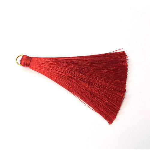 Tassel 70 mm Red
