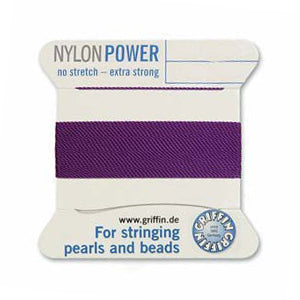 Griffin Power Cord Amethyst Assorted Sizes