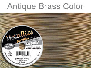 Soft Flex Beading Wire Metallics