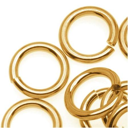 Jumplock Jump Rings Brass