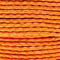 Braided Cotton Bolo Cord Orange