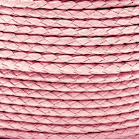 Braided Cotton Bolo Cord PInk