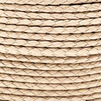 Braided Cotton Bolo Cord Sand