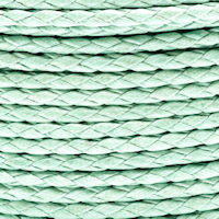 Braided Cotton Bolo Cord Sea Foam