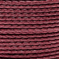 Braided Cotton Bolo Cord Wine
