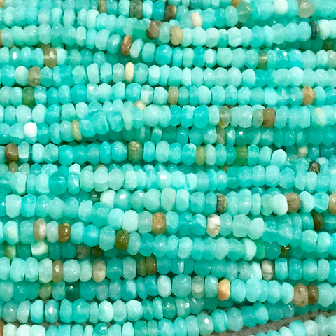 Gemstone - Peruvian Opal Blue