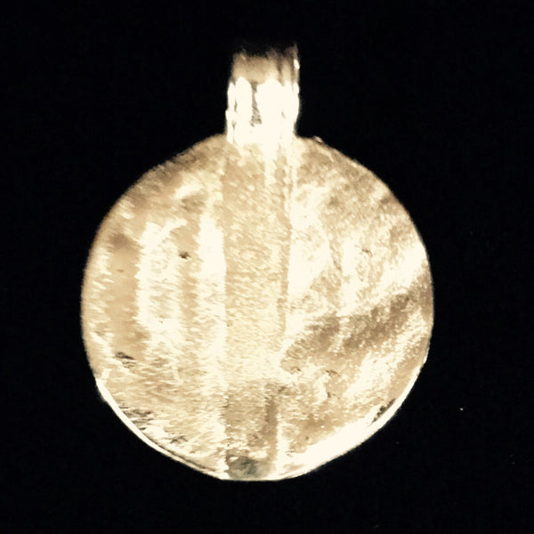 Pendant - Charm Gold Plated Brass