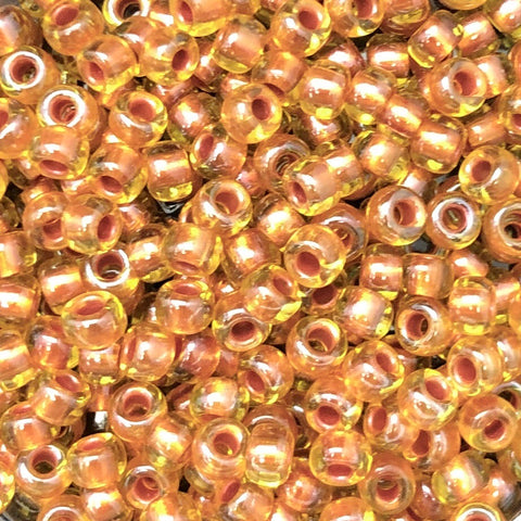 6-3802 Pearlized Lt Amber Copper