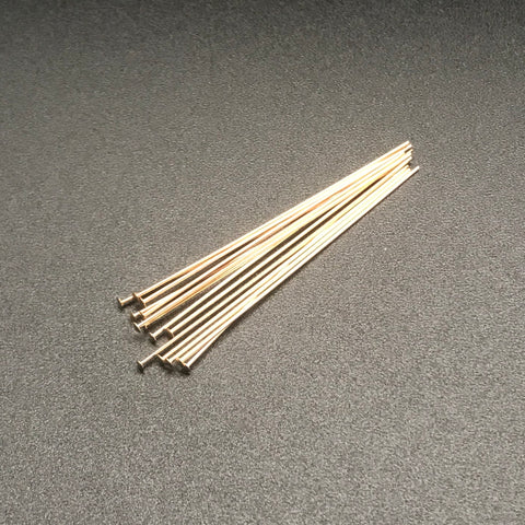 Head Pin 22G 2 INCH GOLD FILLED 1PC