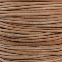 Leather Cord #001 Natural Assorted