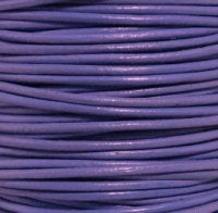 Leather Cord #015 Lt Violet Assorted