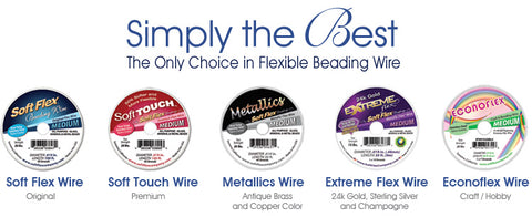 Soft Flex Beading Wire Colors