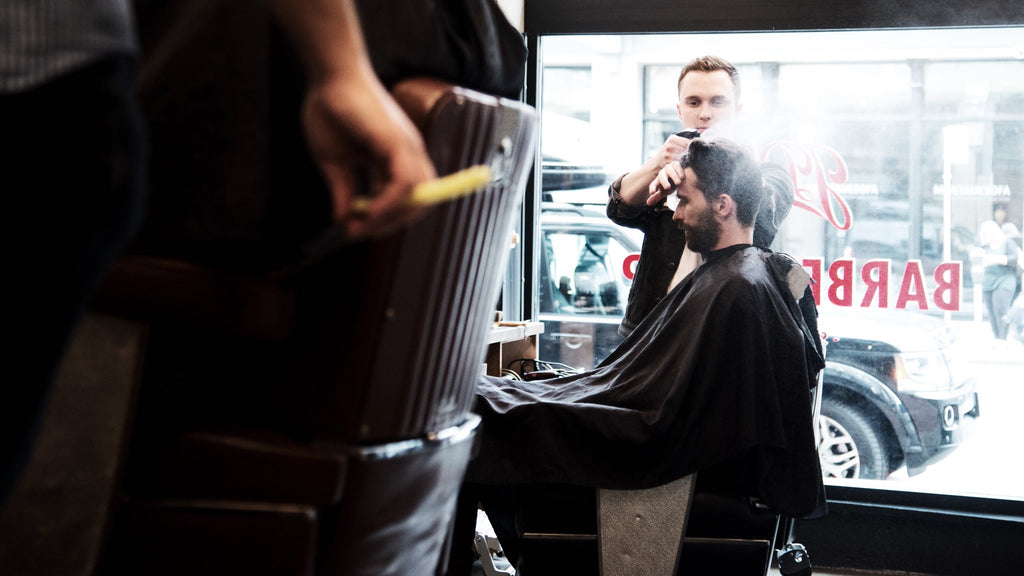 Weldon in Gastown Barbershop