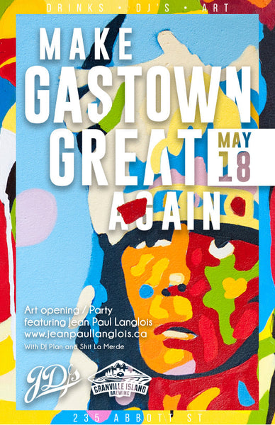 Make Gastown Great Again Party Details