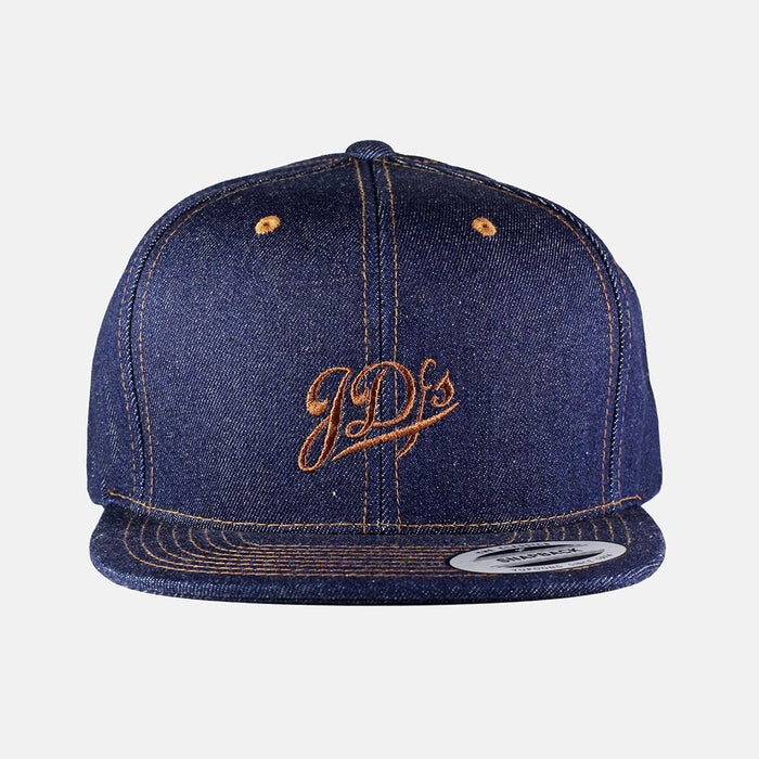 Raw Denim Snapback Hat