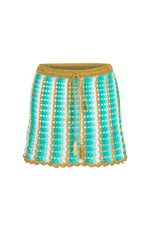 Alouette mini skirt blue