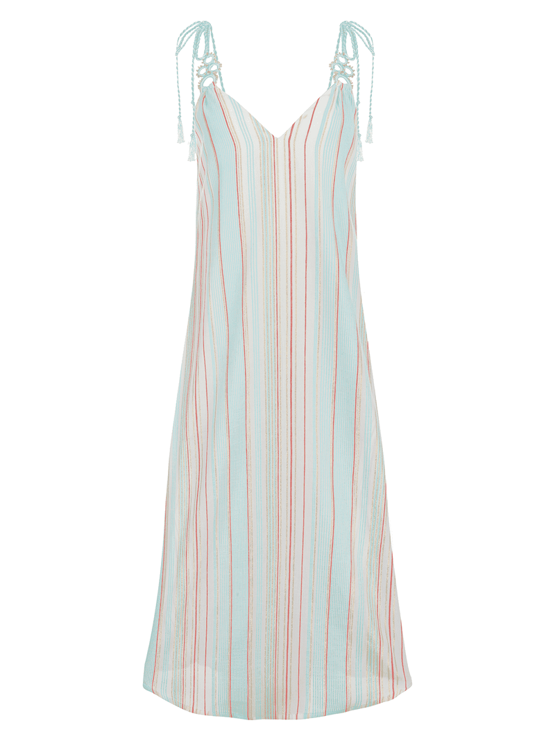 Ajda Striped Sundress - [shop name]