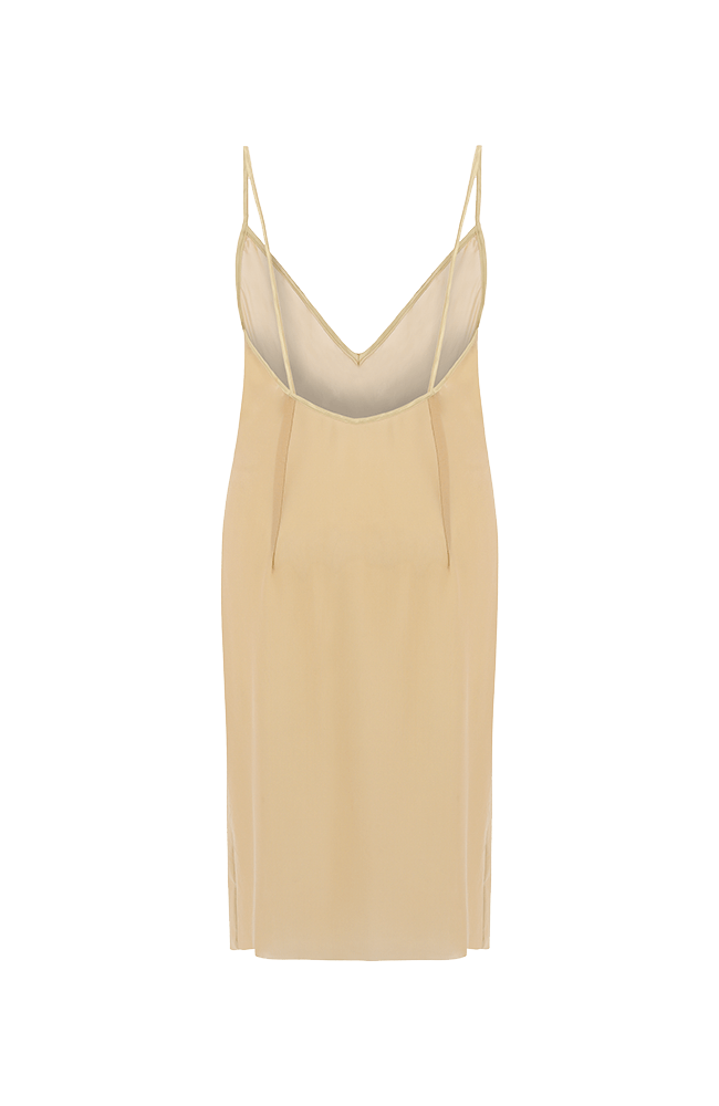 Swan neutral strappy mini slip