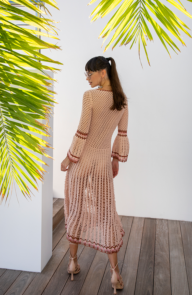 Myna Long Sleeved Dress