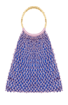 Madonna Lavender Strapped Crochet Top