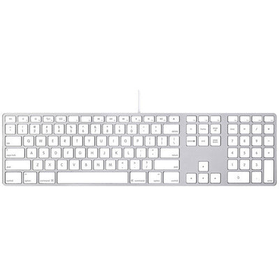 Apple MB110LL/B Standard Keyboard Silver