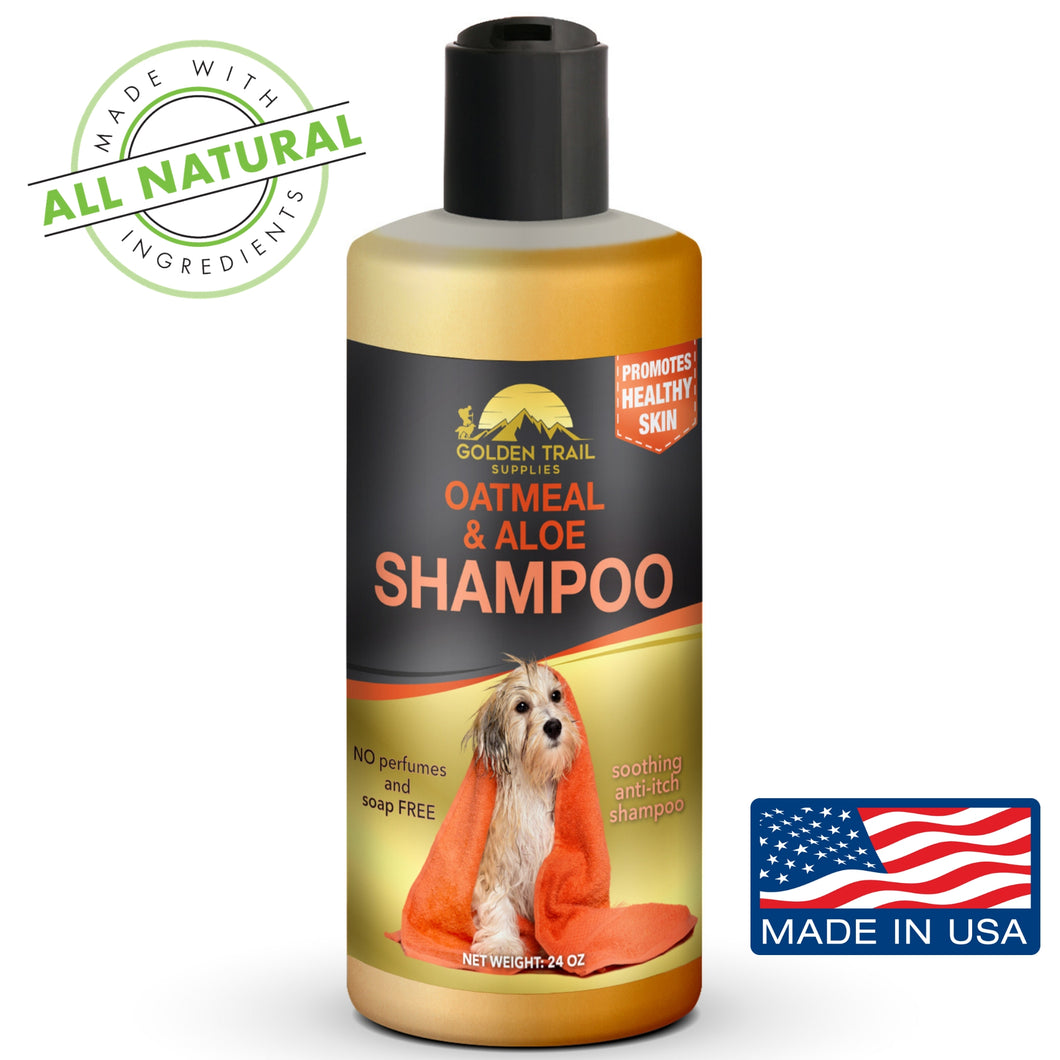 24 oz Natural Oatmeal & Aloe Pet Shampoo & Conditioner