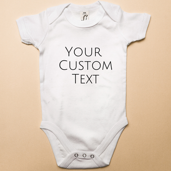 Custom Text Bodysuit