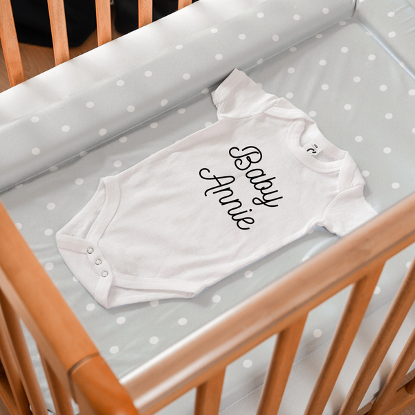 Baby name bodysuit