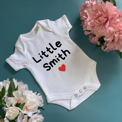 Family Baby Bodysuit - TreasurePersonalisedGifts