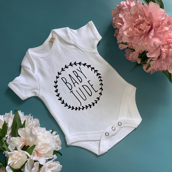 Personalised Baby Bodysuit - TreasurePersonalisedGifts