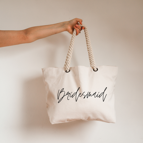 Bridesmaid Beach Bag
