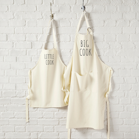 Big Cook, Little Cook Matching Aprons - TreasurePersonalisedGifts