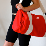 Red Personalised Gym Bag