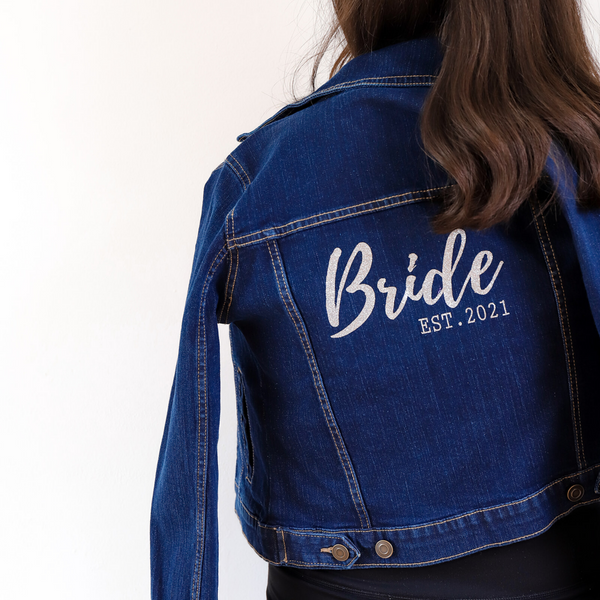 Bride Jacket Personalised Bridal Jacket