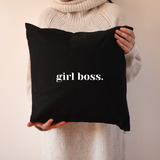 Girl Boss Cushion - More Colours