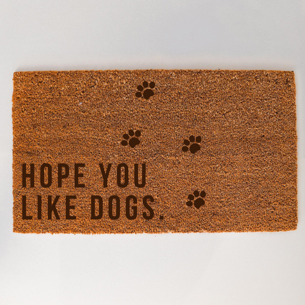 Dog Lover Door Mat - Optional Personalisation