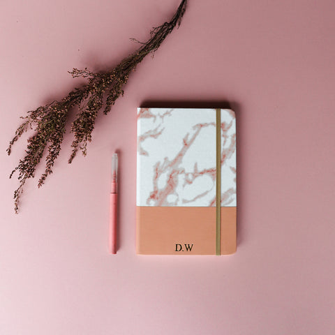 Nude Marble Notebook A5