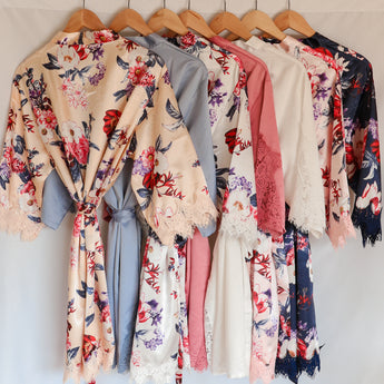bridal robe package