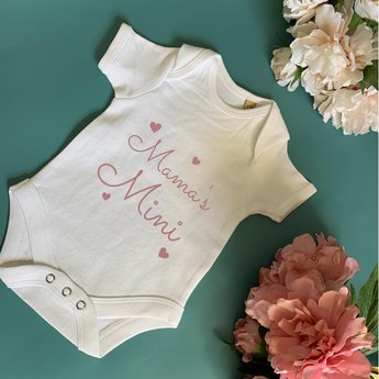 Mama's Mini Baby Bodysuit - TreasurePersonalisedGifts