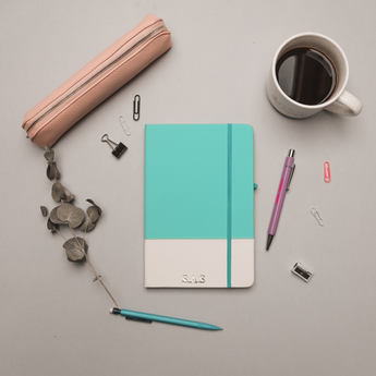 Mint Green A5 Notebook