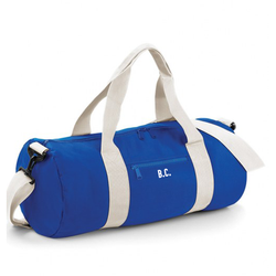 Royal Blue Personalised Gym Bag - TreasurePersonalisedGifts