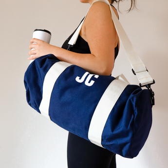 Navy Personalised Gym Bag