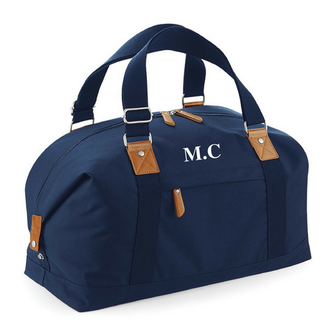 Personalised Navy Blue Bag - TreasurePersonalisedGifts